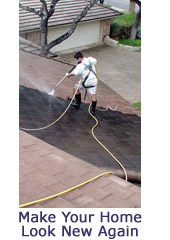 Pressure Washing Roofs Cleaning in Sarasota County Florida